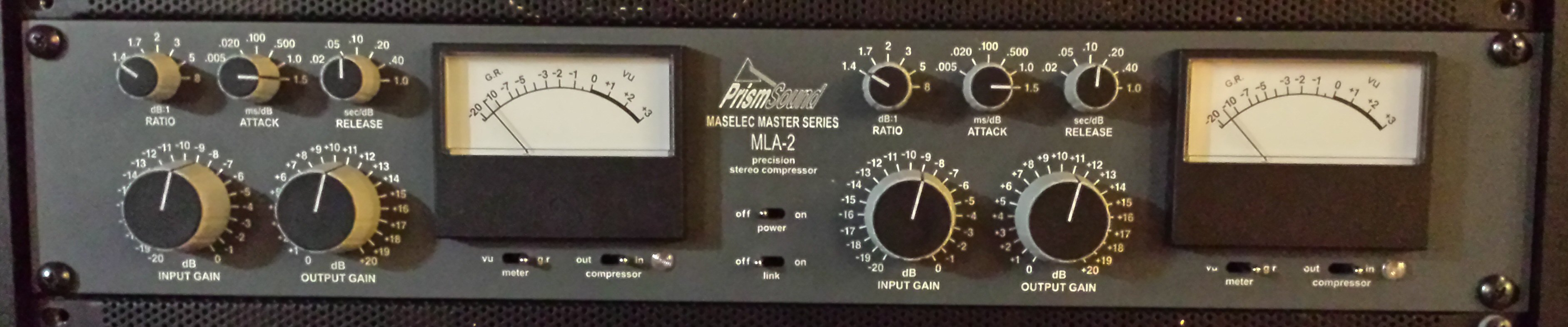 Prism Sound Maselec MLA-2 Mastering Compressor